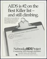 AIDS is #2 on the best killer list - and still climbing