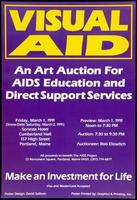 Visual AID. An art auction for AIDS education and direct support services