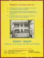 There's a place for us! Bahay Lingap. A halfway home for asymptomatic HIV-positive Filipinos