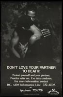 Don't love your partner to death!