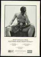 What should a real Scotsman wear under his kilt?