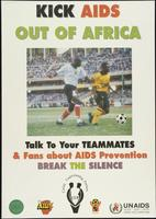 Kick AIDS out of Africa. Talk to your teammates