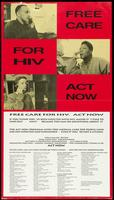 Free care for HIV. Act Now