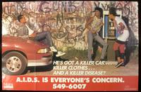 He's got a killer car...killer clothes...and a killer disease?
