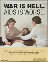War is hell. AIDS is worse