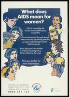 What does AIDS mean for women?