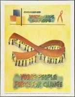 1st December 1998. World AIDS Day 1998. Young people: Force for change