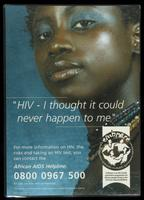 HIV - I thought it could never happen to me