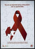 You are an important piece of the picture. Join us against AIDS