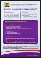 Repeat and re-testing guidance